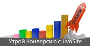 Увеличение конверсии насайте с Jivosite